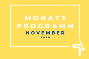 Monatsprogramm November 2020